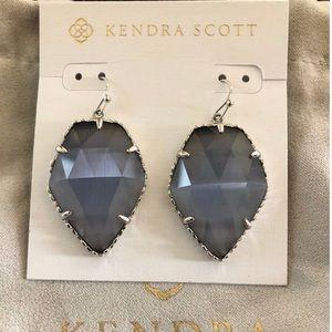 Kendra Scott Corley Slate - Cats Eye Earrings